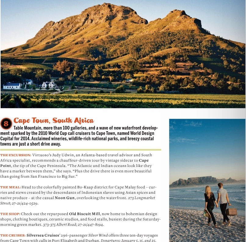 Must sees in cape town south africa africa travel guide for Cape town travel guide